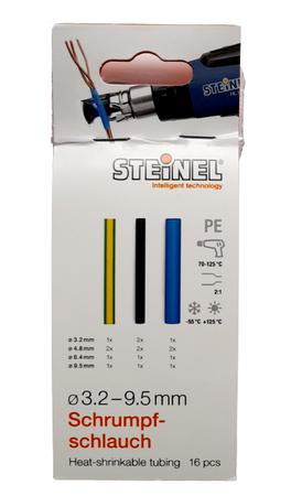 Steinel koszulki termokurczliwe 3,2 - 9,5 mm 16szt (1)